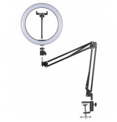 Кольцевая лампа 30см на пантографе