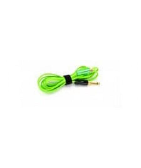 Клип корд Silicone RCA  Cord Premium  AVA  Green